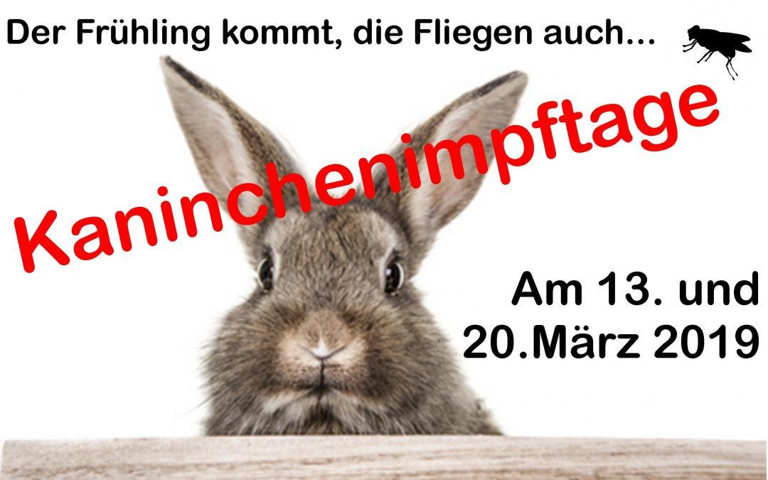 Kaninchenimpftage 2019